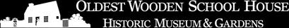 Oldest Wooden School House Logo